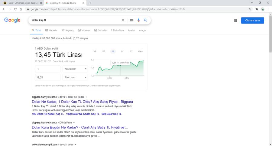 dolar kaç tl - Google'da Ara - Google Chrome 26.10.2020 10_30_59.png